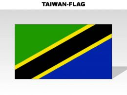 Tanzania Country Powerpoint Flags