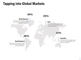 Tapping Into Global Markets Location Ppt Powerpoint Presentation Outline Slide Portrait