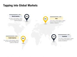 Tapping Into Global Markets Ppt Powerpoint Presentation File Slide Portrait