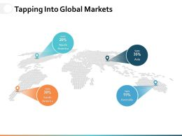 Tapping Into Global Markets Ppt Powerpoint Presentation Gallery Background