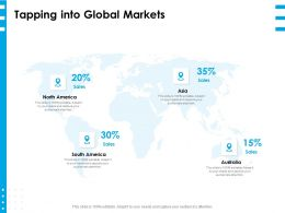 Tapping Into Global Markets Ppt Powerpoint Presentation Layouts Templates