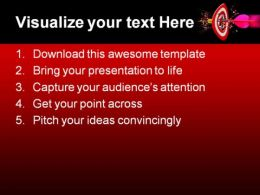 Target Achieved Business PowerPoint Template 0810  Presentation Themes and Graphics Slide02