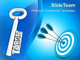 Target Achieved Business PowerPoint Templates PPT Themes And Graphics 0213
