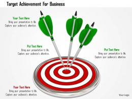 Target Achievement For Business Image Graphics For Powerpoint