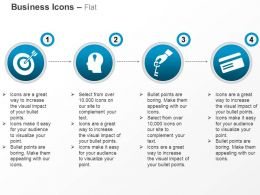 Target Achievement Idea Generation Security Card Ppt Icons Graphics