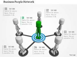 Target Achievement Network For Business Ppt Graphics Icons