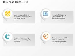 Target Achievement News Sales Chart Customer Support Ppt Icons Graphics