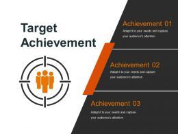 Target Achievement Powerpoint Slide Presentation Tips
