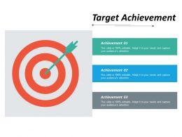 Target Achievement Ppt Inspiration Show