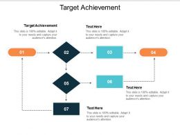 Target Achievement Ppt Powerpoint Presentation File Topics Cpb