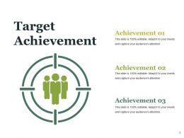 Target Achievement Ppt Styles Skills