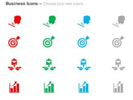 Target Achievement Result Analysis Ppt Icons Graphics