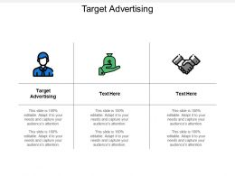 Target Advertising Ppt Powerpoint Presentation Inspiration Example File Cpb