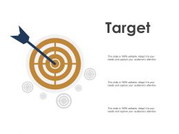 Target And Goals Ppt Powerpoint Presentation Gallery Slide