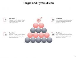 Target And Pyramid Management Governance Analytics Success Goal Marketing Strategy