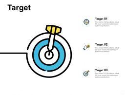 Target Arrow A486 Ppt Powerpoint Presentation Professional Vector