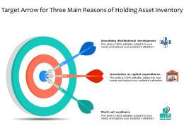 Target Arrow For Three Main Reasons Of Holding Asset Inventory