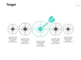 Target Arrow Goal L372 Ppt Powerpoint Presentation Infographics Guidelines