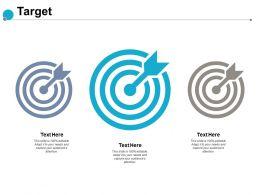 Target Arrow Our Goal E126 Ppt Powerpoint Presentation Summary Deck
