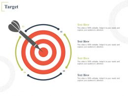 Target Arrow Planning A715 Ppt Powerpoint Presentation Ideas Format