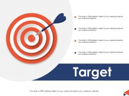 Target Arrow Ppt Powerpoint Presentation File Background