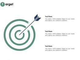 Target Arrow Process C333 Ppt Powerpoint Presentation Visual Aids