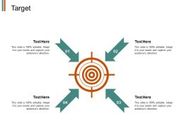Target Arrow Process J128 Ppt Powerpoint Presentation File Show