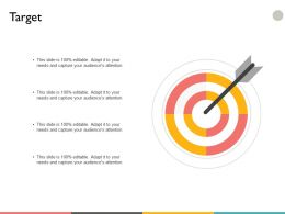 Target Arrow Success A33 Ppt Powerpoint Presentation File Infographics