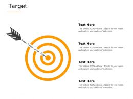 Target Arrow Target A624 Ppt Powerpoint Presentation Professional Graphics