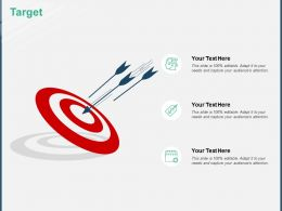Target Arrows A166 Ppt Powerpoint Presentation Outline