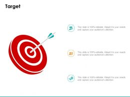 Target Arrows C1057 Ppt Powerpoint Presentation Styles Graphics