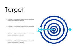Target Arrows F270 Ppt Powerpoint Presentation Pictures Designs Download