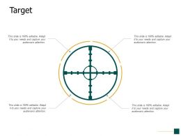 Target Arrows F683 Ppt Powerpoint Presentation Show Example