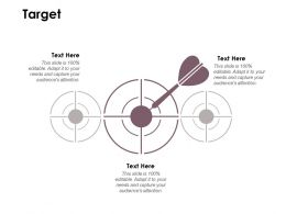Target Arrows Goal D175 Ppt Powerpoint Presentation Gallery Icon