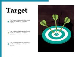 Target Arrows I81 Ppt Powerpoint Presentation Gallery Design Templates