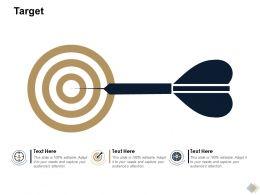 Target Arrows L803 Ppt Powerpoint Presentation Portfolio Background