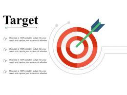 Target Arrows Management C350 Ppt Powerpoint Presentation File Graphics