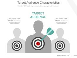 Target Audience Characteristics Powerpoint Slide Templates