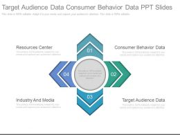 Target Audience Data Consumer Behavior Data Ppt Slide