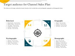 Target Audience For Channel Sales Plan Nationality Ppt Powerpoint Presentation File Examples
