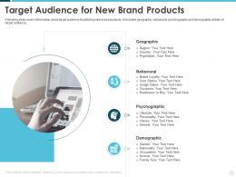 Target Audience For New Brand Products Building Effective Brand Strategy Attract Customers