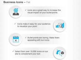 Target Audience Gap Analysis Calendar Import Goods Ppt Icons Graphics