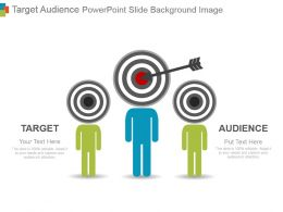 Target Audience Powerpoint Slide Background Image