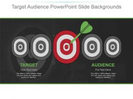 Target Audience Powerpoint Slide Backgrounds