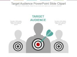 Target Audience Powerpoint Slide Clipart