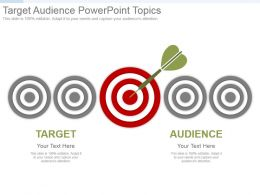 Target Audience Powerpoint Topics
