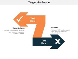 Target Audience Ppt Powerpoint Presentation Ideas Example File Cpb