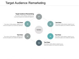 Target Audience Remarketing Ppt Powerpoint Presentation Deck Cpb
