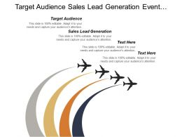 Target Audience Sales Lead Generation Event Planning Organizing