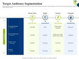 Target Audience Segmentation Creating Successful Integrating Marketing Campaign Ppt Model